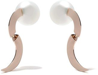 TASAKI 18kt rose gold Buoy earrings
