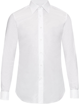 Brioni Double-cuff cotton shirt
