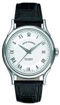 Revue Thommen Men's Automatic Watch with Black Wall Street Analog Leather 20002.2532
