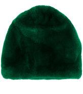 Marni fur beanie hat - women - Rabbit Fur/Acrylic/Wool - One Size