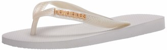 Havaianas Women's Top Logo Metallic Flip-Flop