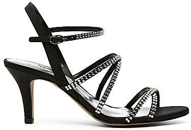 JCPenney Worthington Glam Rhinestone Strappy Sandals