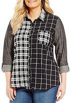 Westbound Plus One-Pocket Boyfriend Shirt
