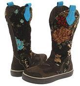 Paris Blues Rocker (Brown W/Tapestry) - Footwear