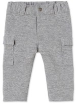 Petit Bateau Baby boys pants in cotton fleece