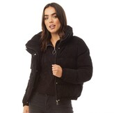 Thumbnail for your product : Brave Soul Womens Slay Cord Jacket Black