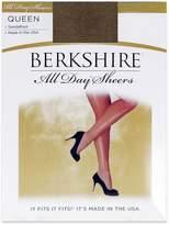 Berkshire Queen All Day Sheer Pantyhose - Non Control Top Sandalfoot