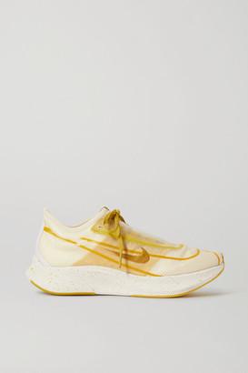 Nike Zoom Fly 3 Mesh Sneakers - Mustard