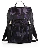 Prada Nylon Camouflage Backpack
