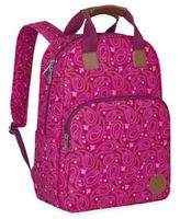 Lassig Vintage Backpack Diaper Bag in Paisley Pink