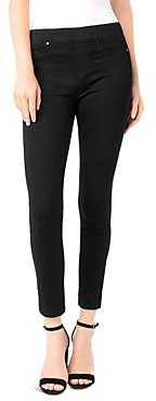 Liverpool Los Angeles Liverpool Chloe Legging Ankle Jeans in Black Rinse