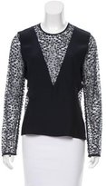 Jenni Kayne Silk Lace Top