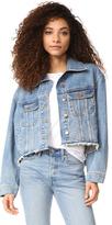 DL1961 Zoe Cut Off Jean Jacket