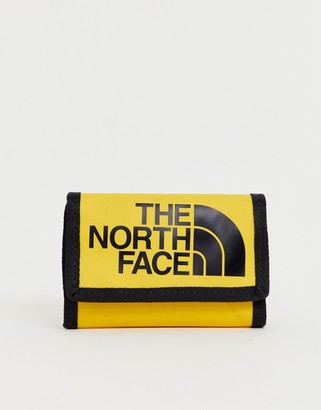 The North Face Base Camp wallet in yellow