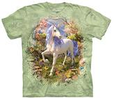 The Mountain Green Forest Unicorn Tee - Girls