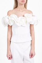 Brock Collection Teresa Ruffle Top