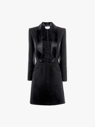 Alexander McQueen Tuxedo Mini Dress