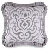 J Queen New York J. Queen New YorkTM Luxembourg Square Throw Pillow in Antique Silver