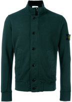 Stone Island funnel neck cardigan