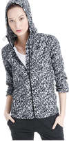 Joe Fresh Women's Floral Running Active Jacket, Black (Size M)