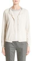 Fabiana Filippi Women's Platinum Wool, Silk & Cashmere Cardigan