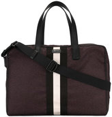 Bally striped holdall
