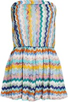 Thumbnail for your product : Missoni Mare Strapless Knit Chevron Romper