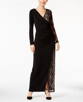 Thalia Sodi Lace-Detail Maxi Dress, Only at Macy's