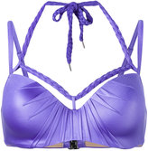 Marlies Dekkers Holi Glamour plunge balcony bikini top D-size +