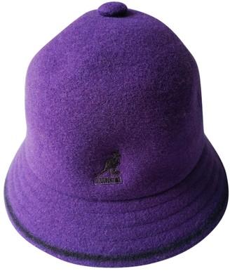 Kangol Purple Wool Hats