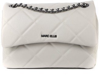 Marc Ellis Madelyn L Bag In Quilted-effect Leather