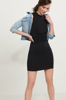 Dynamite Front Knot Bodycon Dress