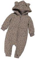 Leegor Newborn Baby Boy Girl Winter Zipper Hoodie Romper Warm Coat Outwear (3M, )