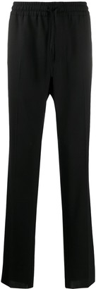 Versace Elasticated Waist Loose Fit Trousers