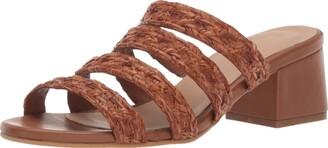 Kaanas Women's KEKOVA Braided Opentoe Low Heel City Slide Sandal Shoe Heeled