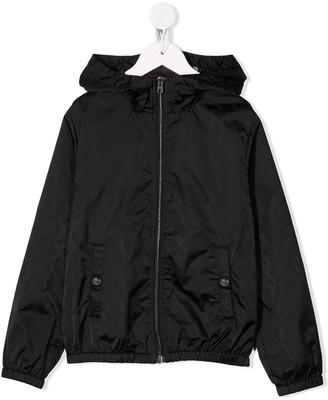Herno Hooded Zip Up Jacket