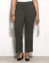 dressbarn roz&ALI Plus Size Super-Stretch Sailor Pants