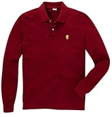 Jacamo Long Sleeve Griffin Polo Shirt Long