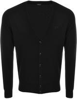 Giorgio Armani Jeans Button Cardigan Jumper Black