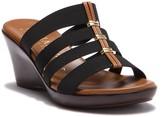 Italian Shoemakers Clover 4-Band Slide Sandal