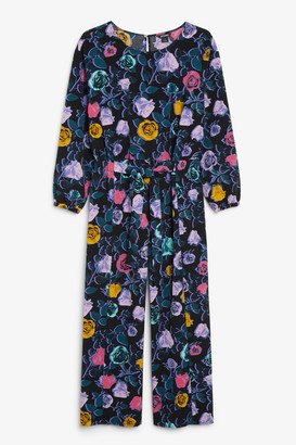 Monki Dressy belted jumpsuit