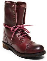 Steve Madden Troopa2 Mid-Calf Leather Boots
