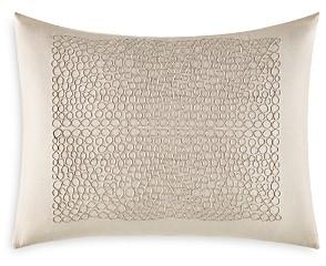 Vera Wang Marbled Center Cording Breakfast Pillow, 12 x 16