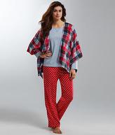 Karen Neuburger Fleece Knit Pajama Set - Women's