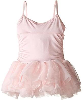 Bloch Rosette Tutu Dress (Toddler/ Little Kids/Big Kids) (Candy Pink) Girl's Dress