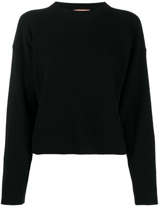 Andamane Chunky-Knit Long-Sleeve Jumper