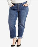 Levi's Plus Size Boyfriend Jeans