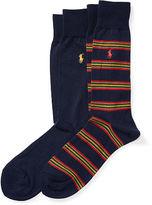 Polo Ralph Lauren Striped Trouser Sock 2-Pack