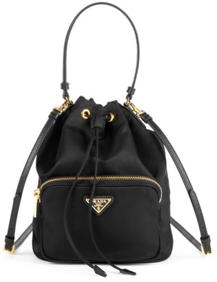 Prada Nylon Bucket Bag