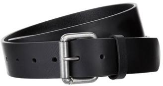 Barbour Matte Leather Belt
